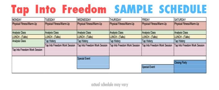 TapIntoFreedom-SAMPLESchedule
